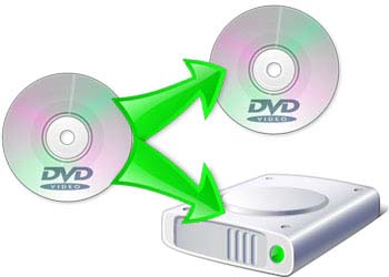 DVDディスクをコピー