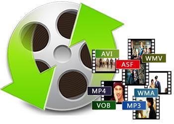 様々な動画形式を変換
