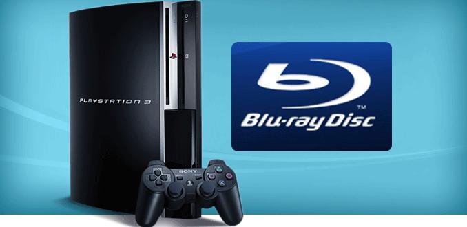 PS3でブルーレイを再生