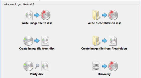 ImgBurn: フリーブルーレイコピー・書き込みソフト