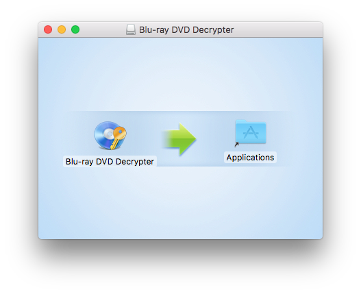 Blu-ray DVD Decrypter Macをインストール