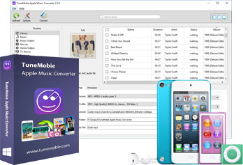Apple Music Converter:Apple MusicとオーディオブックをMP3、M4Aに変換