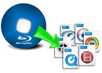 ブルーレイをMP4、WMV、MP3などに変換
