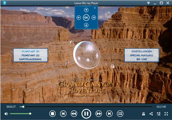 Blu-rayメニューコントロール