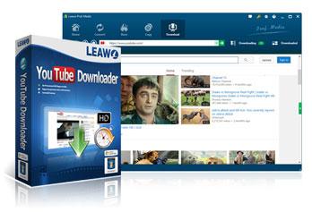 Leawo YouTubeダウンロード
