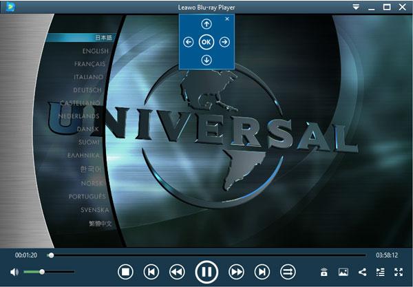 Blu-rayメニューKing Kong(キングコング)