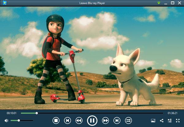 Leawo Blu-ray Playerでブルーレイを再生中