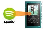 Spotify音楽をウォークマンで聞く