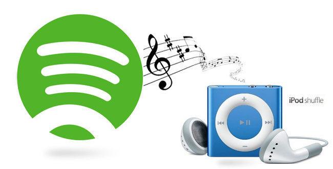 iPod Nano/Shuffle でSpotify音楽を聞く